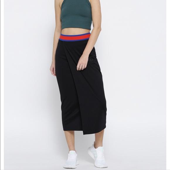 b90626e0910c06 adidas Skirts | Nwt Ea Long Skirt Black | Poshmark
